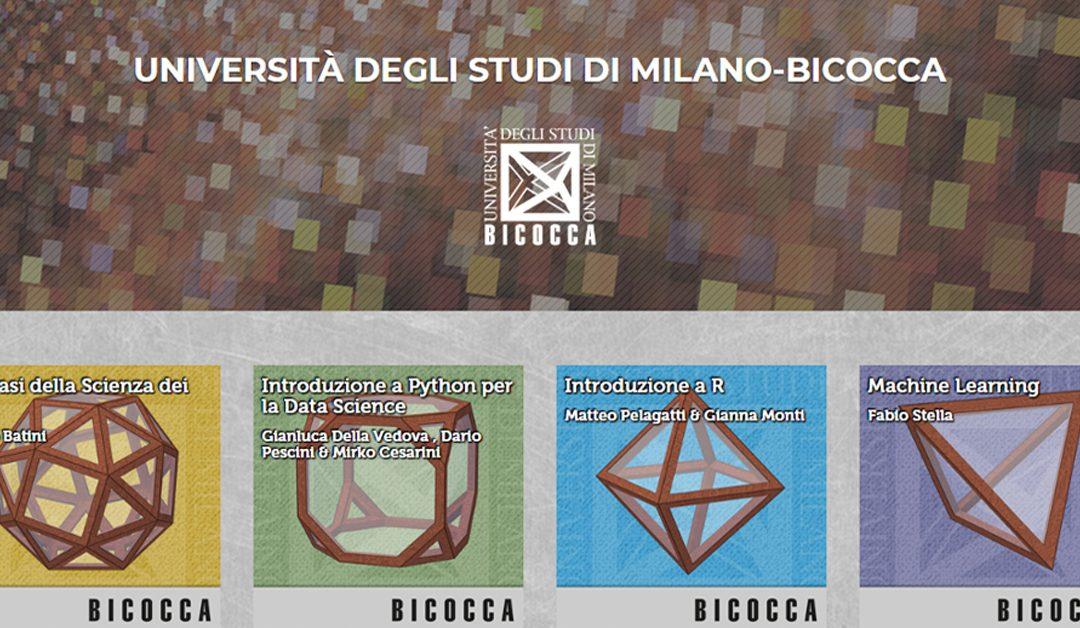 I corsi di Data Science di Milano-Bicocca sono online con Federica.EU
