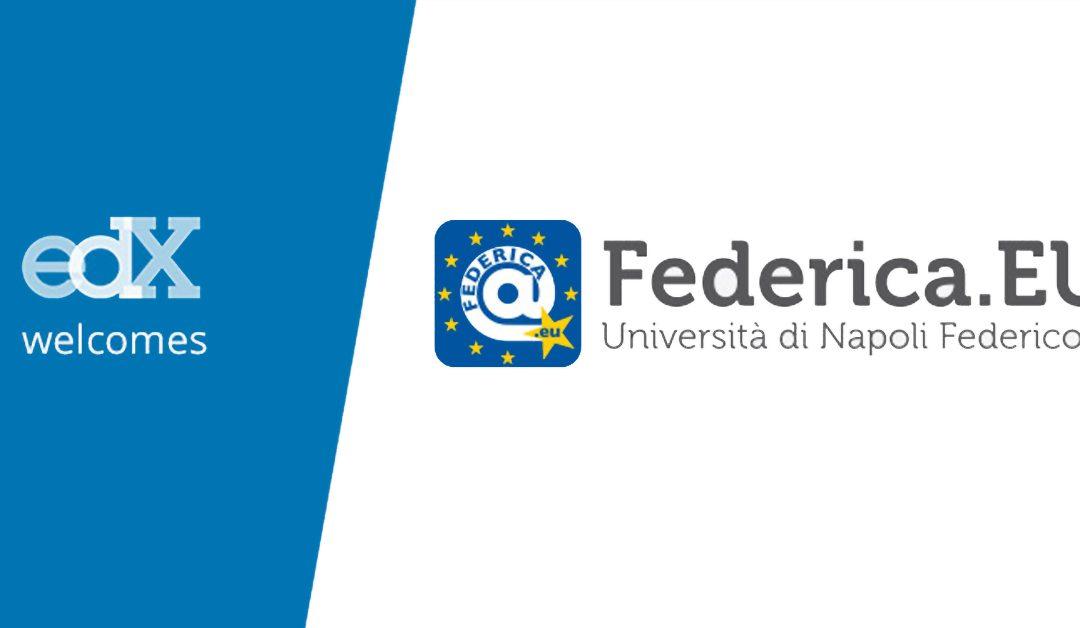 Sono online i nuovi corsi di Federica su edX!