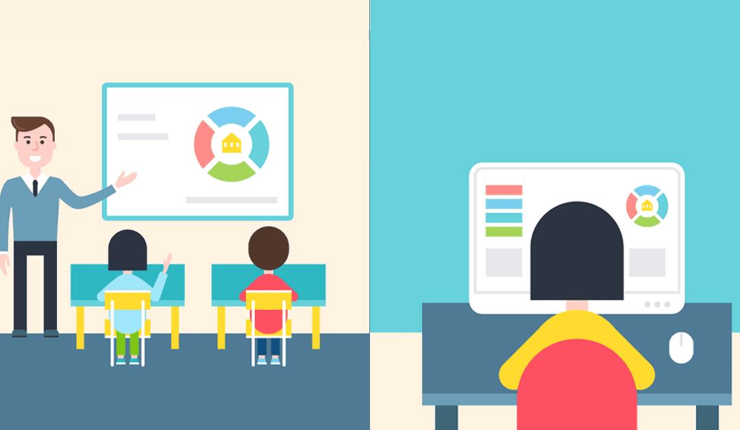 Il futuro dell'e-learning: la didattica nelle aule ibride