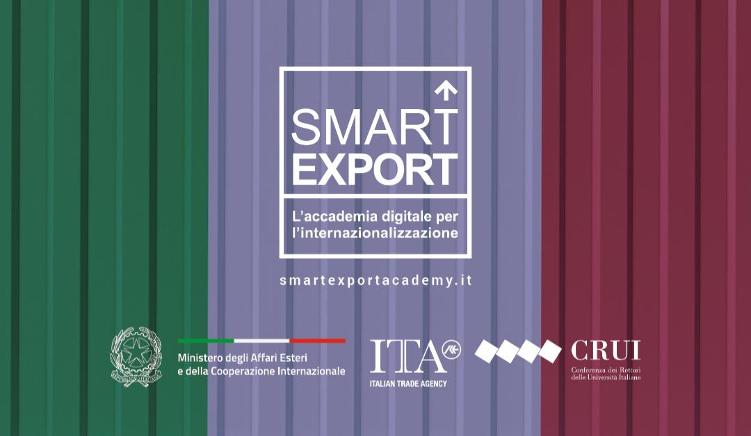 Formarsi per l'export? Al via il ciclo di webinar Smart Export per l'internazionalizzazione delle PMI