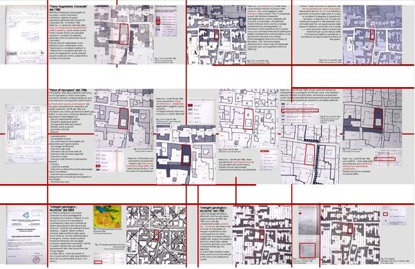 Federica eu laboratorio di restauro 1 il progetto di for Planimetrie architettoniche